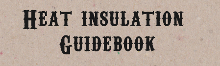 HEAT INSULATION GUIDEBOOK